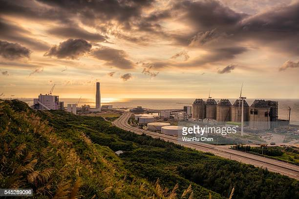 Linkou Thermal Power Plant at west coast of Taiwan
