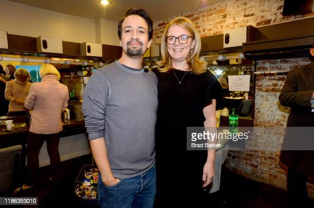 LinManuel Miranda and Elizabeth Rutledge attend the Fast Company Innovation Festival Day 4 on November 08 2019 in New York City