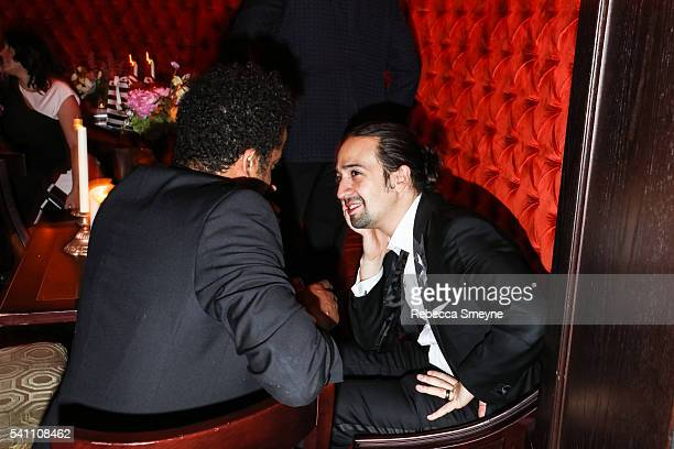 LinManuel Miranda at the Hamilton afterparty for the Tony Awards at Tavern on the Green in New York NY on June 13 2016