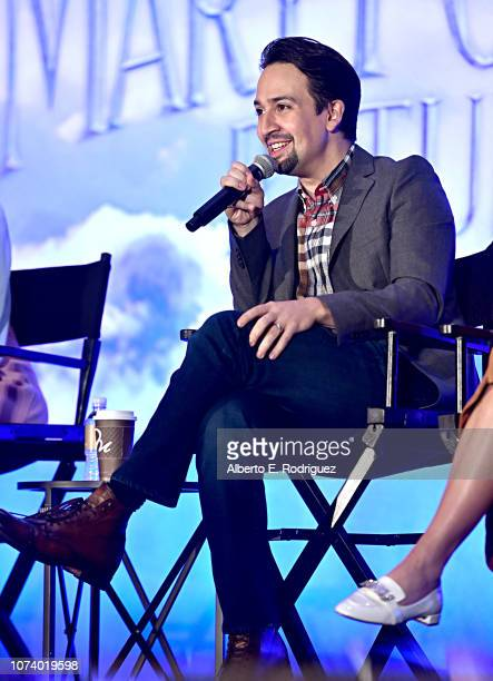 LinManuel Miranda attends Disney's Mary Poppins Returns press conference at the Montage Beverly Hills on November 28 2018 in Los Angeles California
