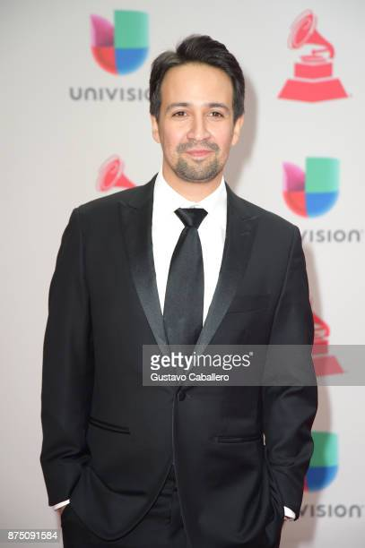 LinManuel Miranda attends the 18th Annual Latin Grammy Awards at MGM Grand Garden Arena on November 16 2017 in Las Vegas Nevada