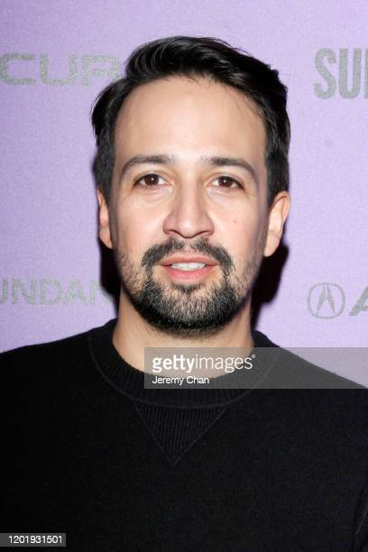 LinManuel Miranda attends the 2020 Sundance Film Festival Power Of Story Just Art Panel at Egyptian Theatre on January 25 2020 in Park City Utah