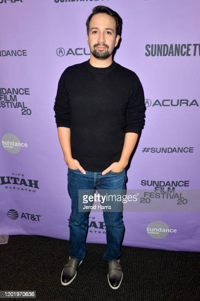 LinManuel Miranda attends the 2020 Sundance Film Festival Siempre Luis Premiere at Temple Theater on January 25 2020 in Park City Utah