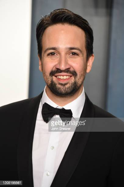 LinManuel Miranda attends the 2020 Vanity Fair Oscar Party hosted by Radhika Jones at Wallis Annenberg Center for the Performing Arts on February 09...