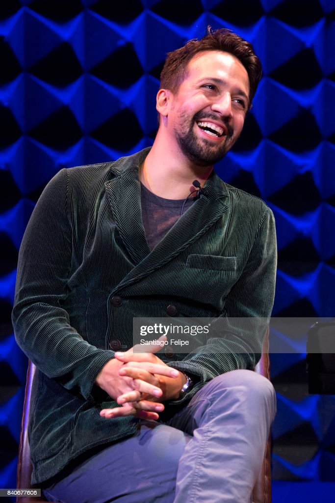 Lin-Manuel Miranda attends the Anthony Quinn Foundation benefit at Joe's Pub on August 29, 2017 in New York City.