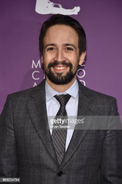 LinManuel Miranda attends The Eugene O'Neill Theater Center's 18th Annual Monte Cristo Award Honoring LinManuel Miranda at Edison Ballroom on April...