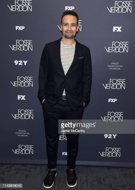 """Lin-Manuel Miranda attends the """"Fosse/Verdon"""" Screening And Conversation at 92nd Street Y on April 18, 2019 in New York City."""