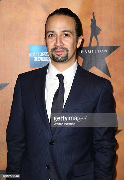LinManuel Miranda attends the 'Hamilton' Broadway Opening Night After Party at Pier 60 on August 6 2015 in New York City