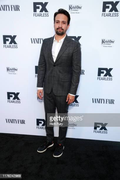 Lin-Manuel Miranda attends Vanity Fair and FX's annual Primetime Emmy Nominations Party on September 21, 2019 in Century City, California.