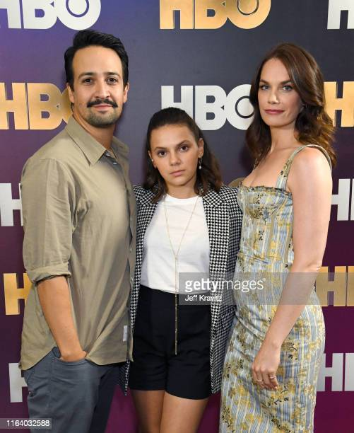 LinManuel Miranda Dafne Keen and Ruth Wilson attend the HBO Summer TCA Panels on July 24 2019 in Beverly Hills California