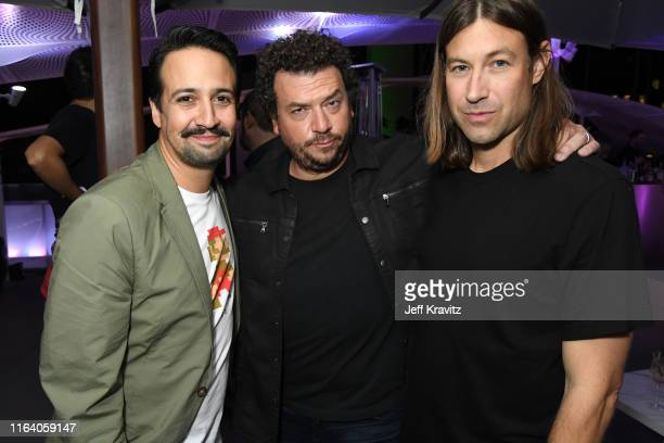 LinManuel Miranda Danny McBride and Jody Hill attend the Warner Media Entertainment TCA Party on July 24 2019 in Beverly Hills California