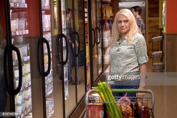 LIVE 'LinManuel Miranda' Episode 1706 Pictured Kate McKinnon as Kellyanne Conway during the 'A Day Off' sketch on October 4 2016