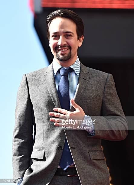 LinManuel Miranda is honored with a Star on the Hollywood Walk of Fame on November 30 2018 in Los Angeles California