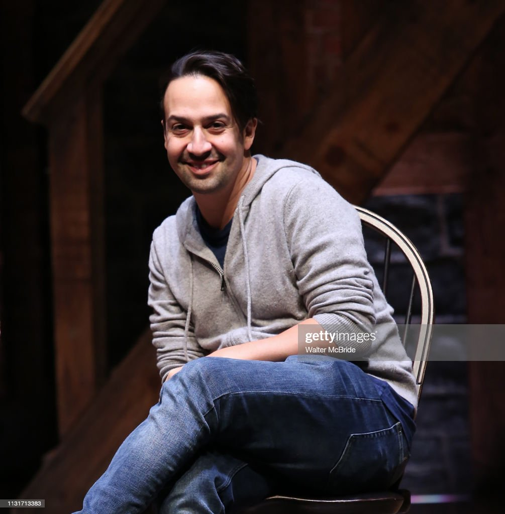 "NY: Lin-Manuel Miranda Makes Surprise Appearance At Student #EduHam Matinee Performance Of ""Hamilton"""