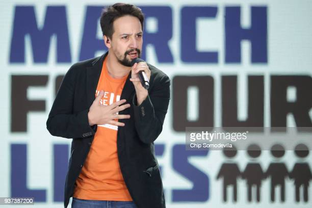 LinManuel Miranda performs Found/Tonight during the March for Our Lives rally on March 24 2018 in Washington DC Hundreds of thousands of...
