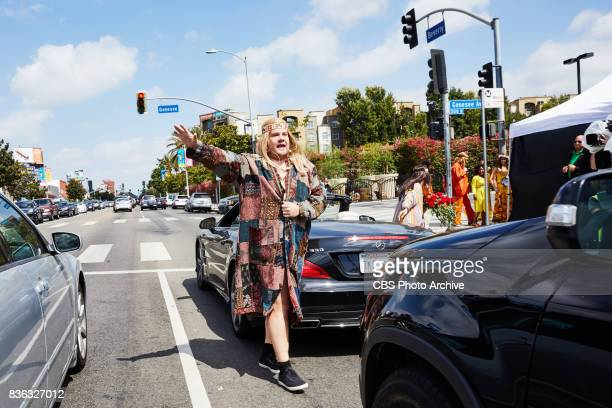 LinManuel Miranda performs in Crosswalk The Musical Hair with James Corden during 'The Late Late Show with James Corden' Tuesday August 15 2017 On...