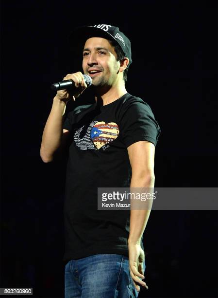 LinManuel Miranda speaks during TIDAL X Brooklyn at Barclays Center of Brooklyn on October 17 2017 in New York City