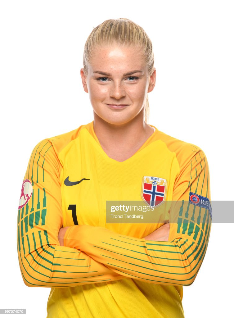 Linn Mari Nilsen of Norway during J19 Photocall at Thon Arena on July 12, 2018 in Lillestrom, Norway.