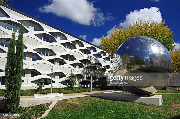 Linnaeus Building home of the Research School of Biology ANU Colleges of Science Precinct Linnaeus Way Australian National University Acton Canberra...