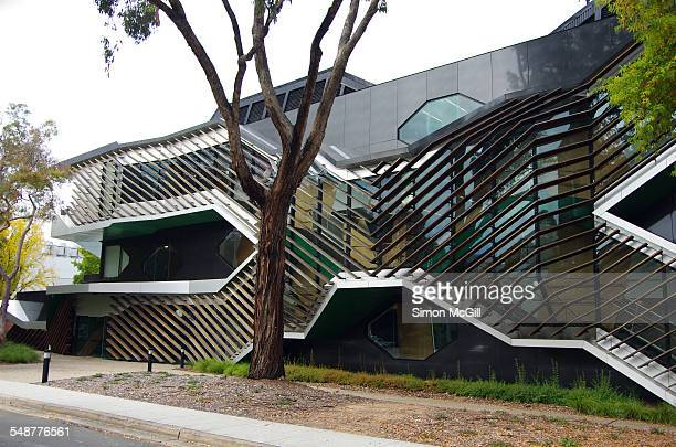 Linnaeus Building home of the Research School of Biology Linnaeus Way Australian National University Canberra Australian Capital Territory Australia...