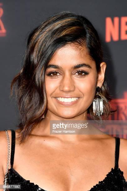 Linnea Berthelsen attends the premiere of Netflix's 'Stranger Things' Season 2 at Regency Bruin Theatre on October 26 2017 in Los Angeles California