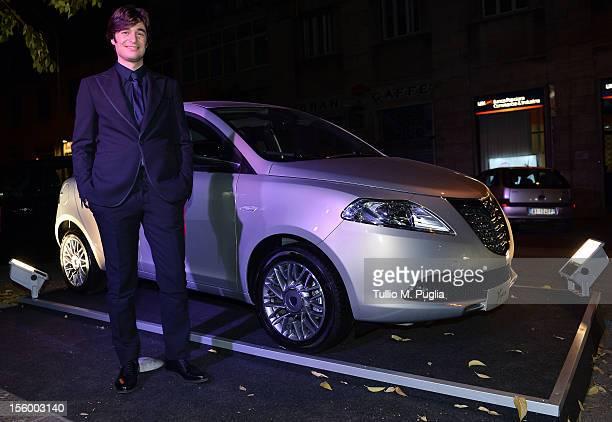 Lino Guanciale attends 'La Scoperta dell'Alba' party on November 10 2012 in Rome Italy