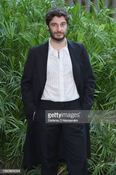 Lino Guanciale attends L'Allieva 2 photocall at RAI Viale Mazzini on October 23 2018 in Rome Italy
