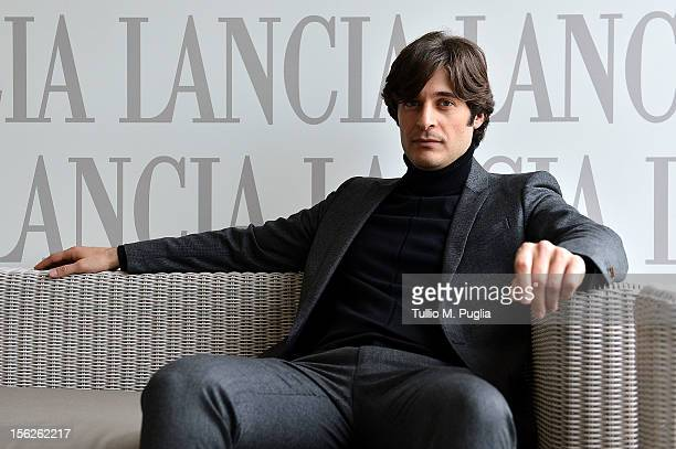 Lino Guanciale attends the 7th Rome Film Festival at Lancia Cafe on November 12 2012 in Rome Italy