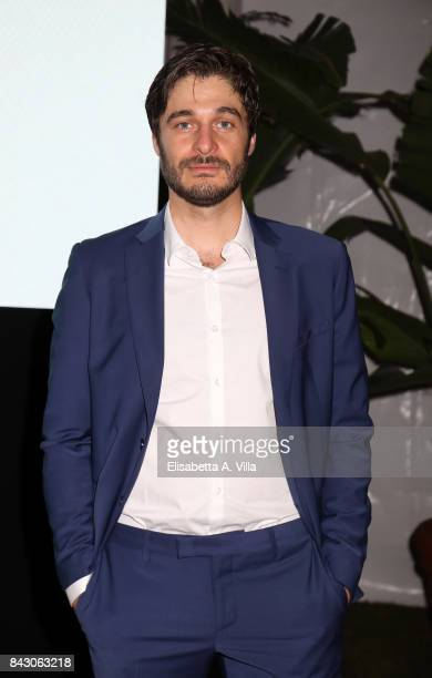 Lino Guanciale attends the Twinset Party during the 74th Venice Film Festival at Excelsior Hotel on September 5 2017 in Venice Italy
