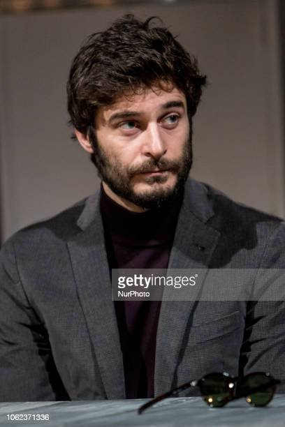 Lino Guanciale during quotAfter Miss Juliequot conference at Teatro Franco Parenti in Milano Italy on November 16 2018
