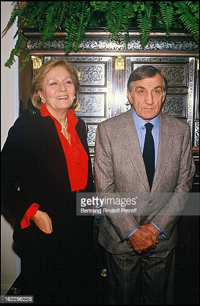 Lino Ventura and his wife Odette in 1986