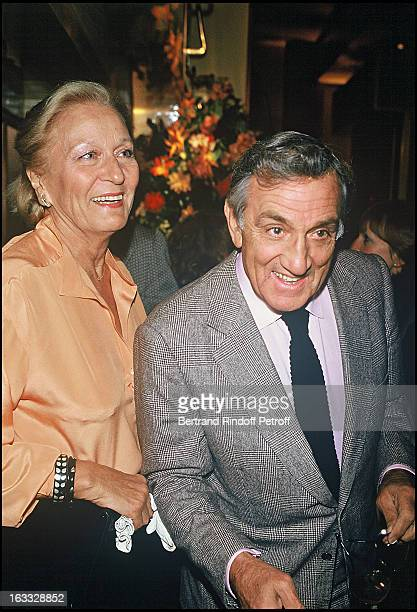 Lino Ventura with wife Odette at An Evening Meal At Tong Yen