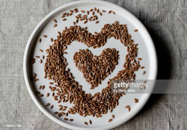 linseed - flax seed stock pictures, royalty-free photos & images