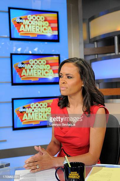 AMERICA Linsey Davis coanchors Good Morning America 6/20/13 airing on the Walt Disney Television via Getty Images Television Network on the Walt...
