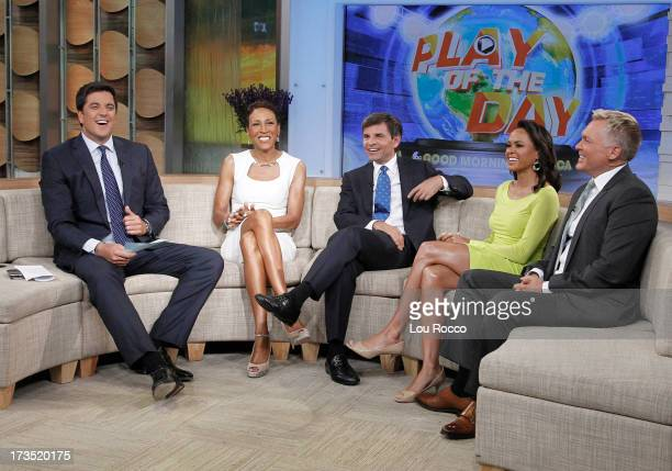 AMERICA Linsey Davis coanchors Good Morning America 7/15/13 airing on the Walt Disney Television via Getty Images Television Network JOSH