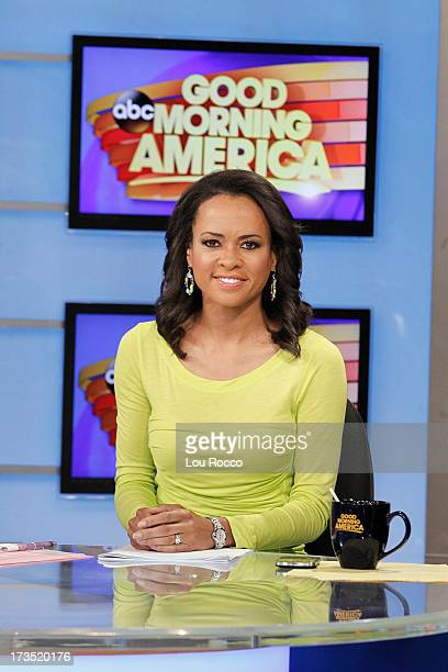 AMERICA Linsey Davis coanchors Good Morning America 7/15/13 airing on the Walt Disney Television via Getty Images Television Network LINSEY