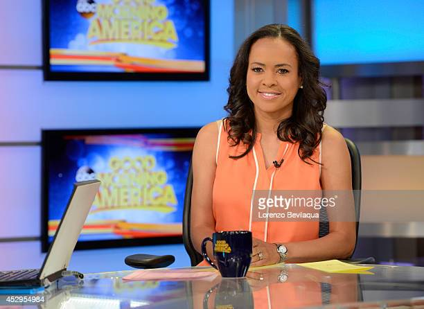AMERICA Linsey Davis on Good Morning America 7/30/14 airing on the Walt Disney Television via Getty Images Television Network LINSEY