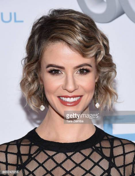 Linsey Godfrey attends the CBS's 'The Bold And The Beautiful' 30th Anniversary Party at Clifton's Cafeteria on March 18 2017 in Los Angeles California