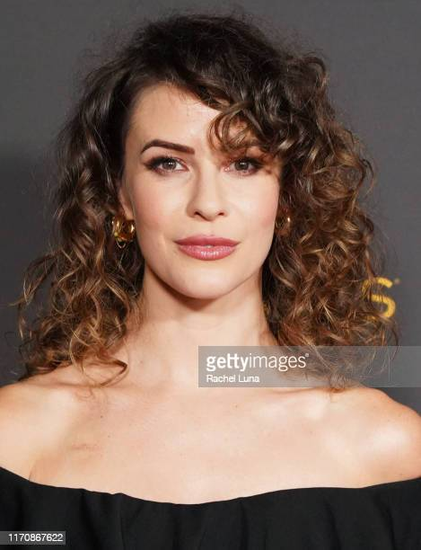 Linsey Godfrey attends the Television Academy Daytime Programming Cocktail Reception at Television Academy's Wolf Theatre at the Saban Media Center...