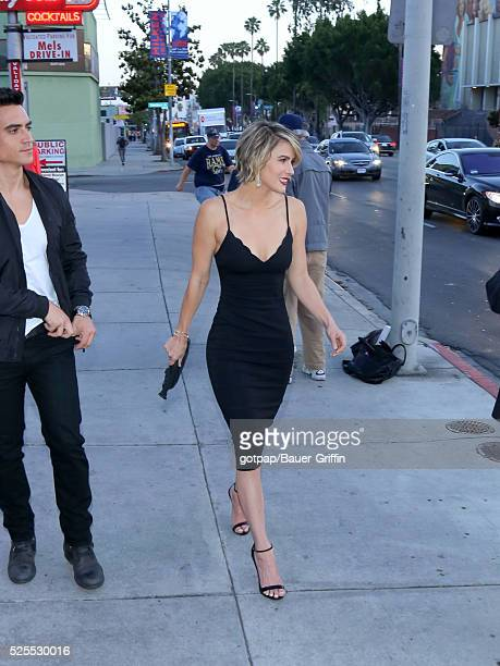 Linsey Godfrey is seen on April 27 2016 in Los Angeles California