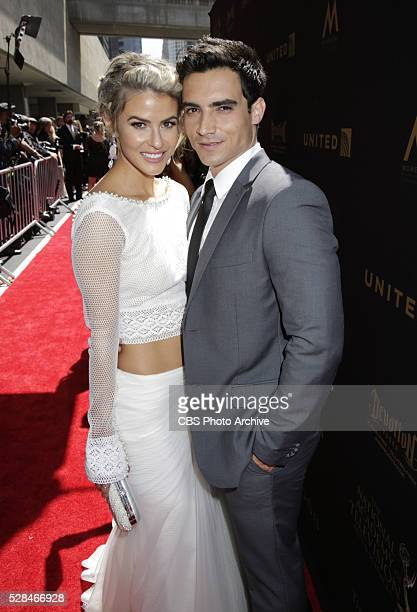 Linsey Godfrey on the red carpet at THE 43RD ANNUAL DAYTIME EMMY AWARDS held on Sunday May 1 2016 in Los Angeles California