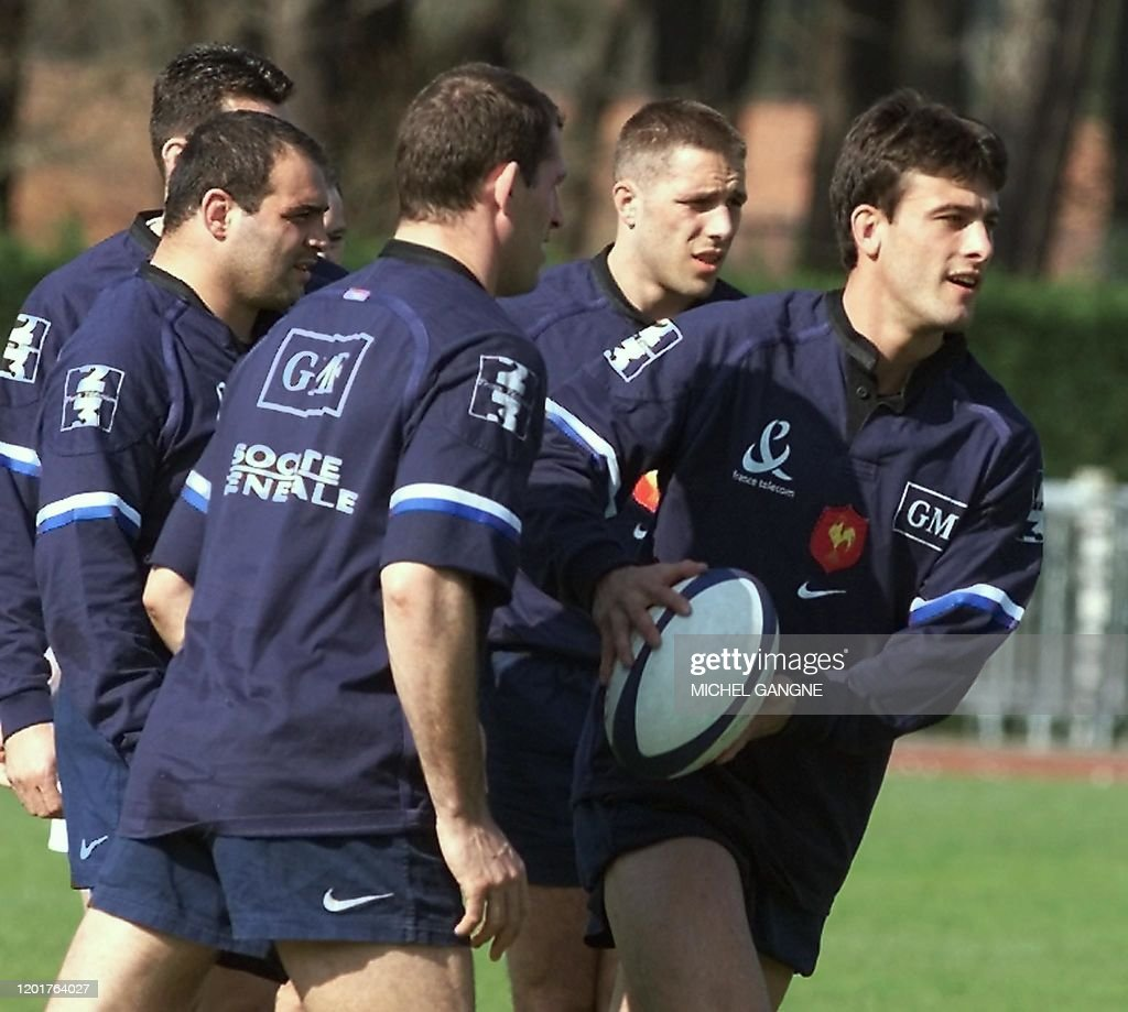 RUGBY-NATIONS-FRANCE : News Photo