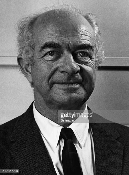 Linus Pauling American chemist, Won the Nobel Chemistry Prize, 1954 and Nobel Peace Prize, 1962. Undated photograph.