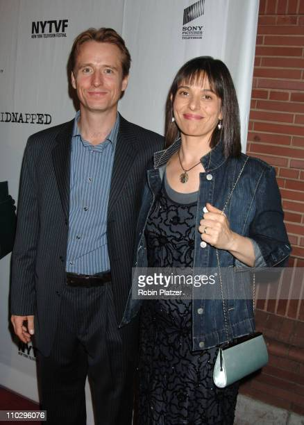 Linus Roache and wife Ros during Opening Night Gala for the New York Television Festival and NBC Premiere of Kidnapped September 12 2006 at The New...