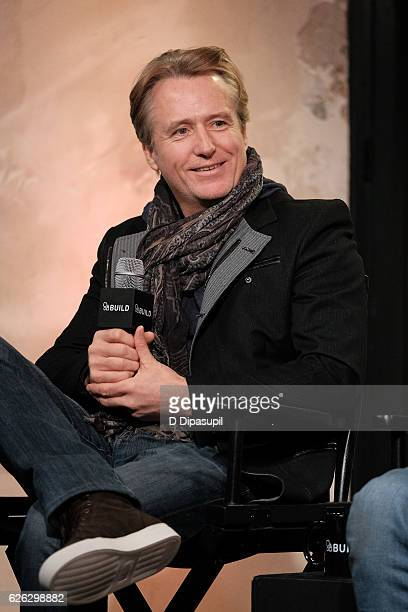 Linus Roache attends the Build Series to discuss Vikings at AOL HQ on November 28 2016 in New York City
