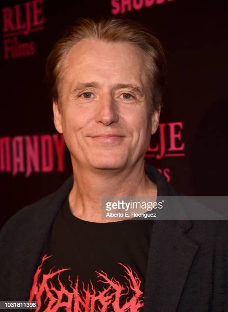 Linus Roache attends the Los Angeles Special Screening And QA Of Mandy At Beyond Fest at the Egyptian Theatre on September 11 2018 in Hollywood...