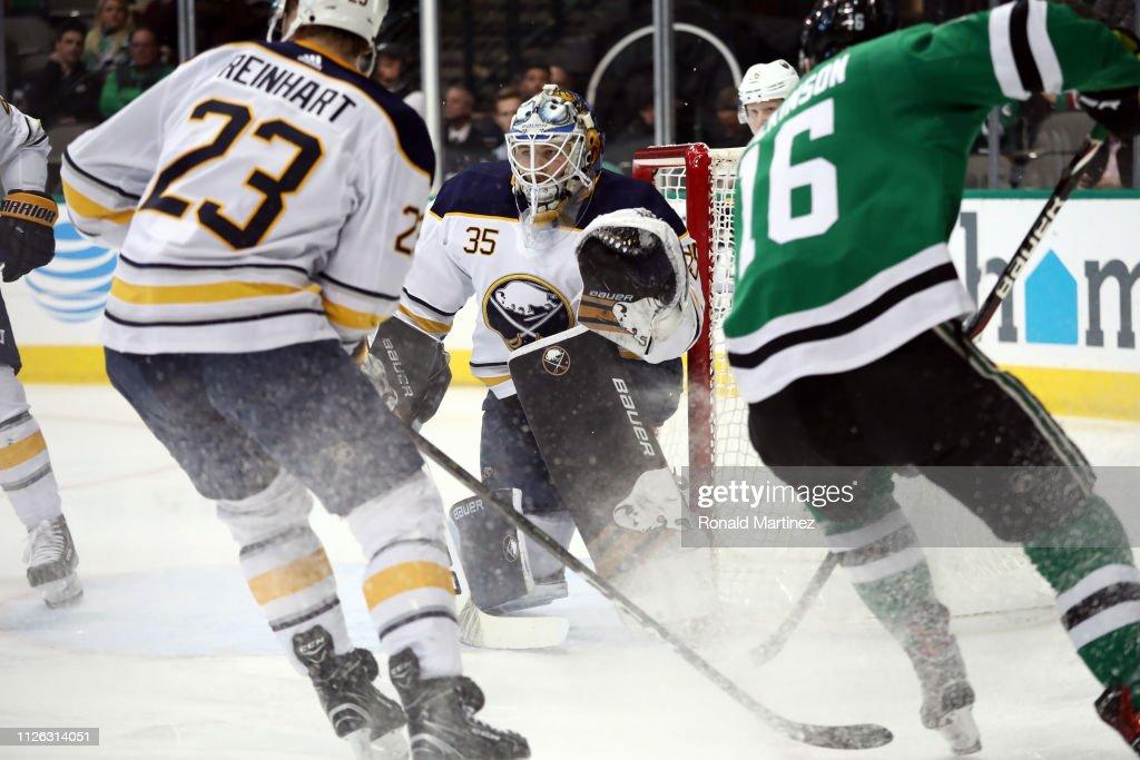 Buffalo Sabres v Dallas Stars : News Photo