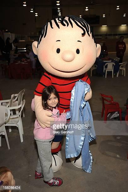 Linus van Pelt attends 'Snoopy Brings A Little Love To Long Beach' on December 12 2012 in New York City