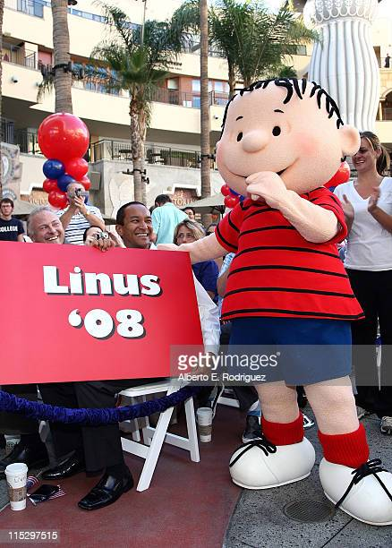 Linus Van Pelt attends the DVD release for Warner Home Video's 'You're Not Elected Charlie Brown' held at the Hollywood Highland courtyard on October...