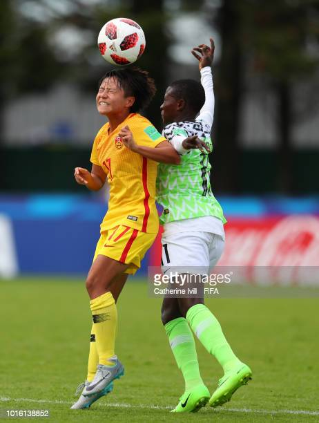 General view during the FIFA U20 Women's World Cup France 2018 group D match between China PR and Nigeria at Stade du Clos Gastel on August 13 2018...